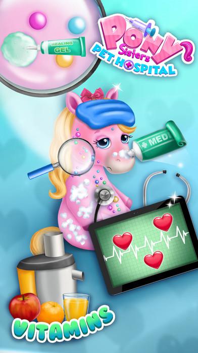 Pony Sisters Pet Hospital - No Ads screenshot 4