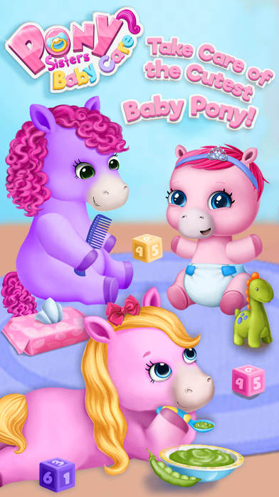 Pony Sisters Baby Horse Care - Babysitter Daycare screenshot 1