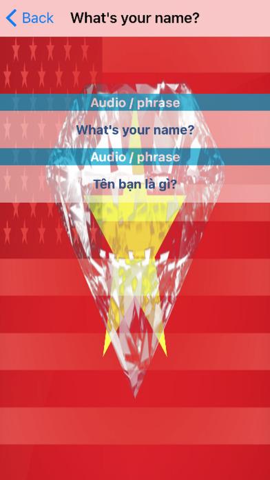 Vietnamese Phrases Diamond 4K Edition screenshot 3