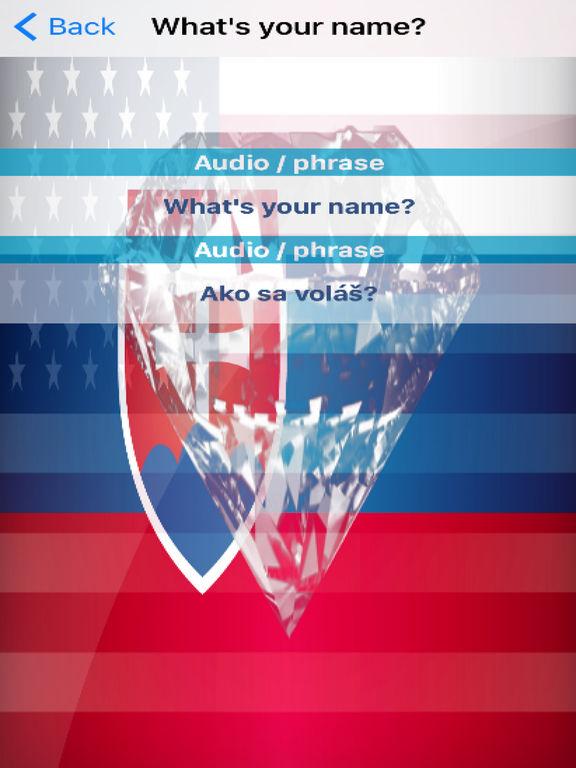 Slovak Phrases Diamond 4K Edition screenshot 6