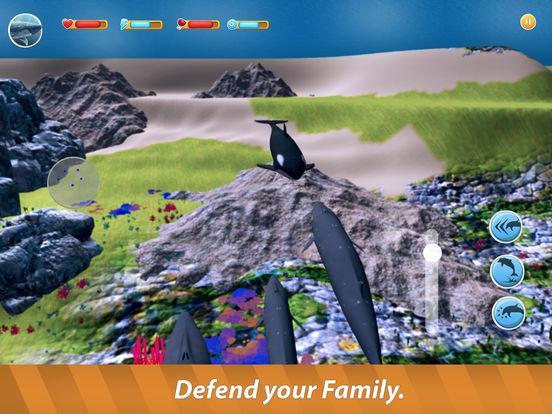 Blue Whale Family Simulator Full screenshot 7