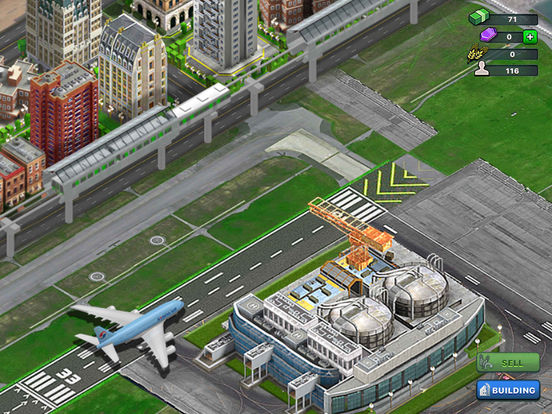 Monorail City™ screenshot 6