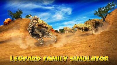 Leopard Family Simulator Full screenshot 1