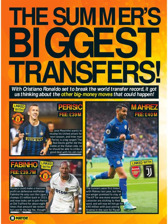 Match Magazine screenshot 9