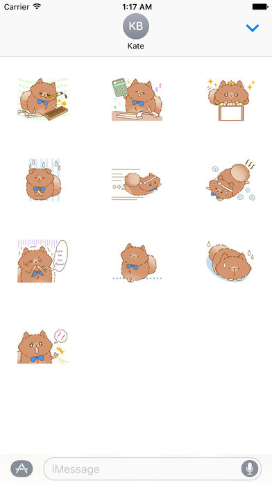 Pompom Dog Traveling Sticker screenshot 3