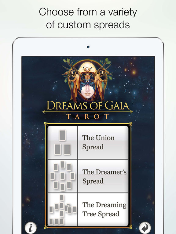 Dreams of Gaia Tarot screenshot 10