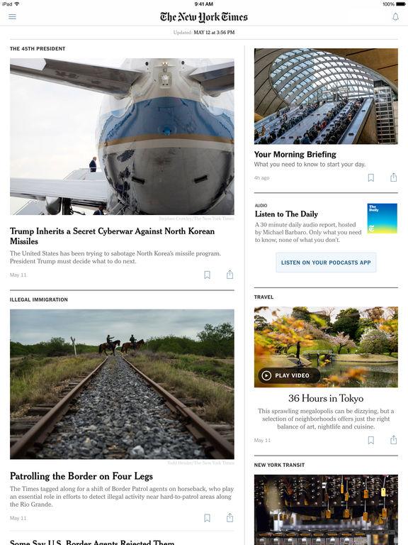 The New York Times screenshot 9