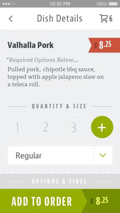 Valhalla Sandwiches screenshot 4