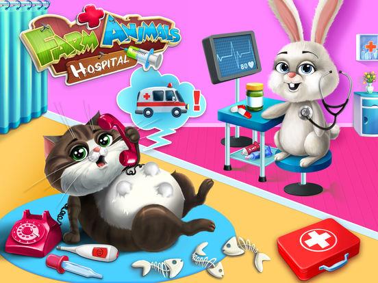Farm Animals Hospital Doctor 3 - No Ads screenshot 6
