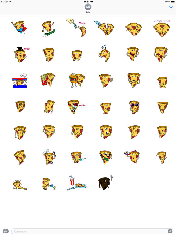 Pizzamoji - Life of Pizza Sticker screenshot 4
