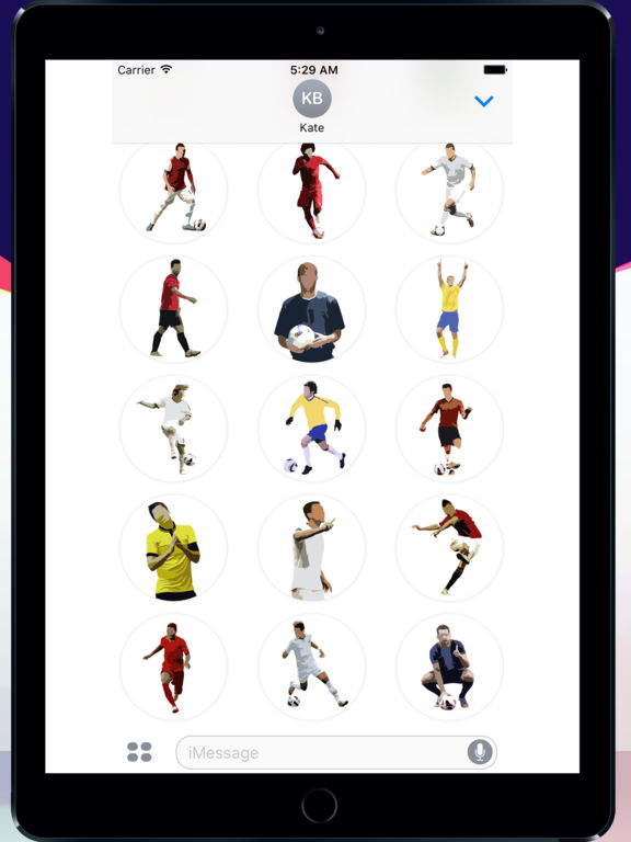 Football Master Sticker Pack screenshot 6