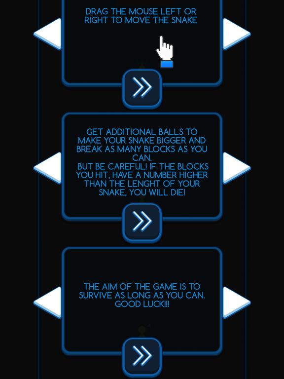Snake & Blocks screenshot 4