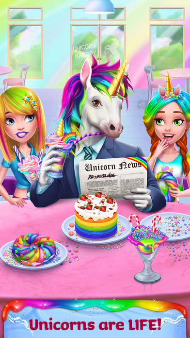 Unicorn Food Style Maker screenshot 1