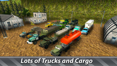 Cargo Trucks Offroad Driving Full screenshot 3