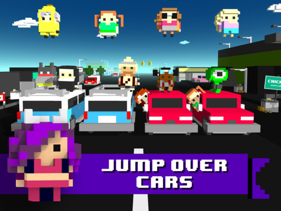 Chicken Jump - Crazy Traffic screenshot 6