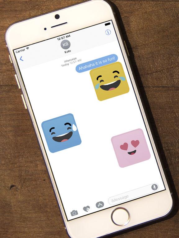 Smile Me Sticker pack screenshot 9