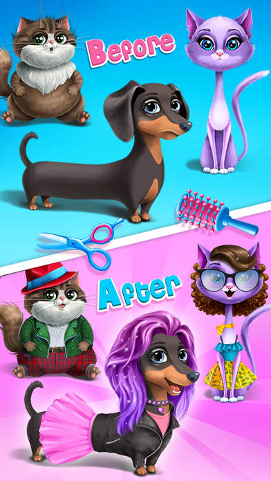 Farm Animals Makeover - No Ads screenshot 2