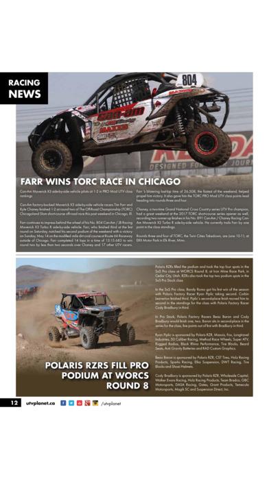 UTV Planet Magazine screenshot 3