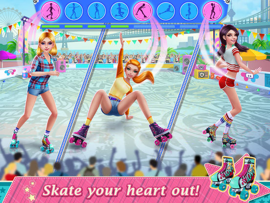 Roller Skating Girls screenshot 7