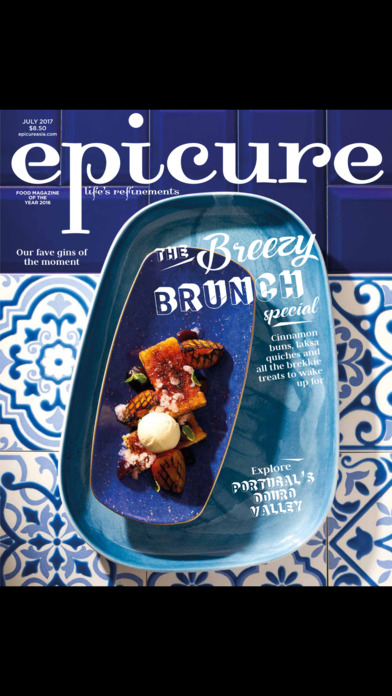 Epicure (Magazine) screenshot 1