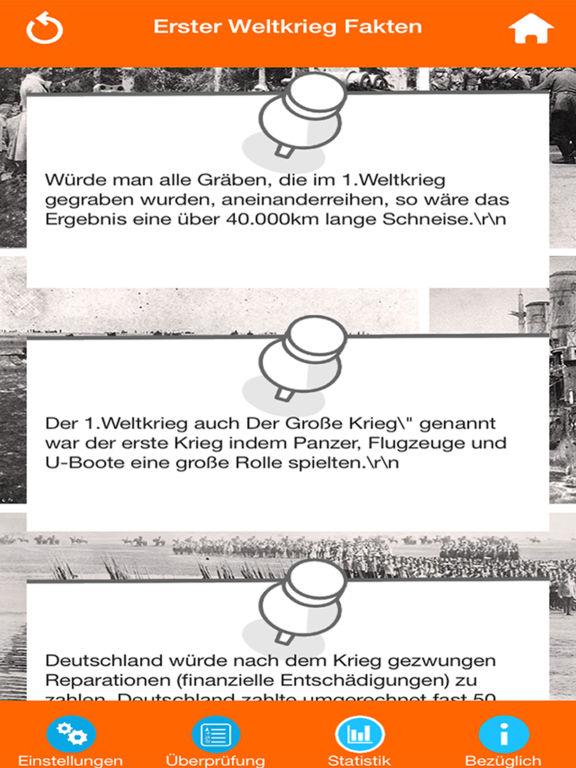 Der Erste Weltkrieg Quiz screenshot 7