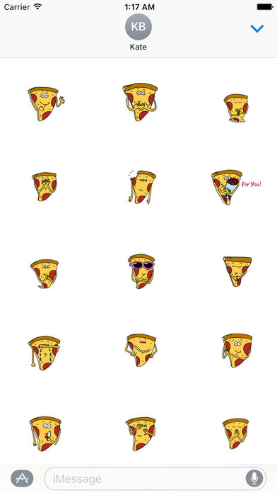 Pizzamoji - Life of Pizza Sticker screenshot 2