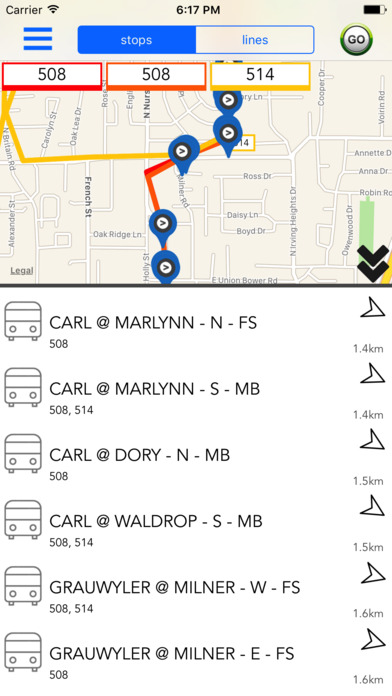 Dallas Public Transport Guide screenshot 1