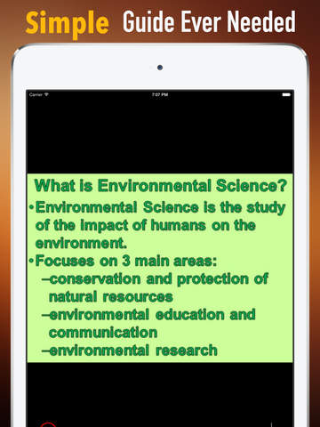 Environmental Science Exam:College Test Preparation screenshot 7