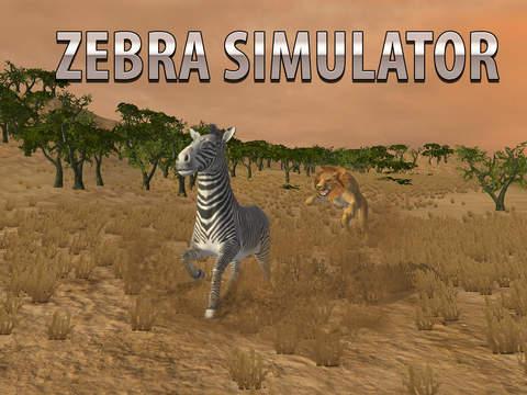 Zebra Simulator 3D - African Horse Survival screenshot 7