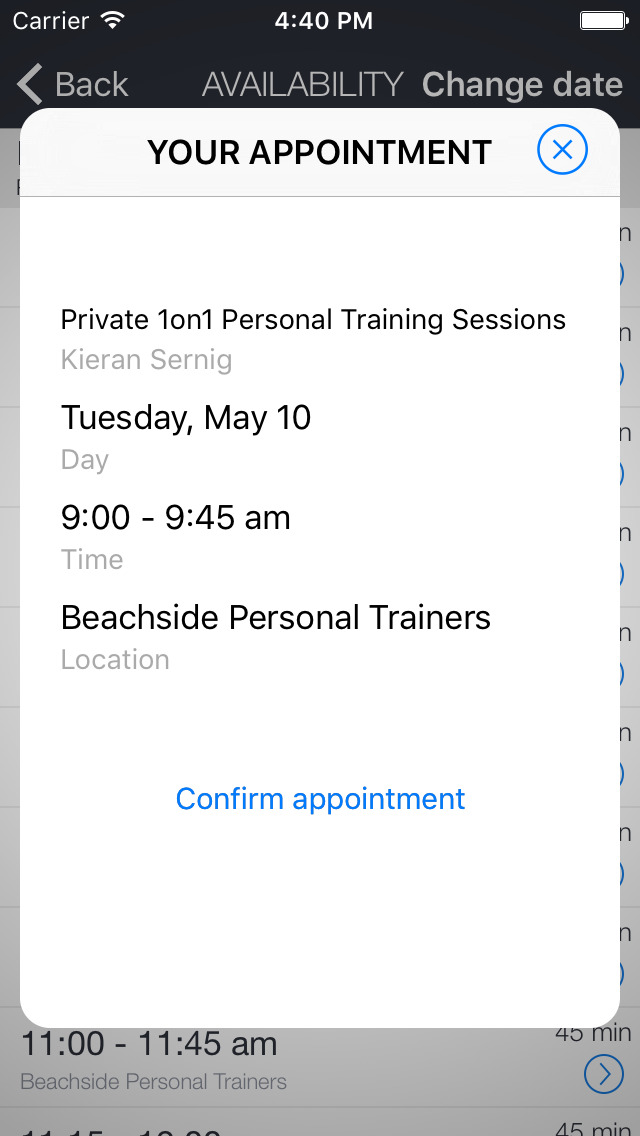Beachside Personal Trainers screenshot 2