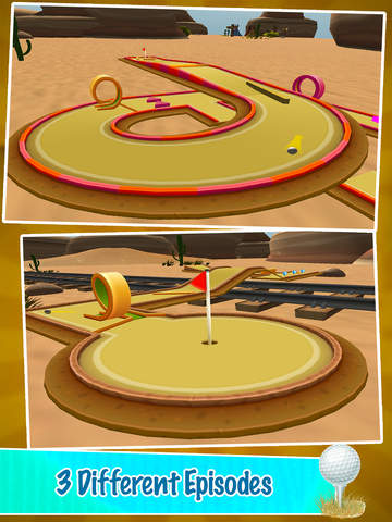 Mini Golf PRO : Desert Edition 2016 - Play golf holes in classic sand environment by BULKY SPORTS screenshot 8