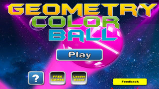 Geometry Color Ball - Fun Rolling Color screenshot 1