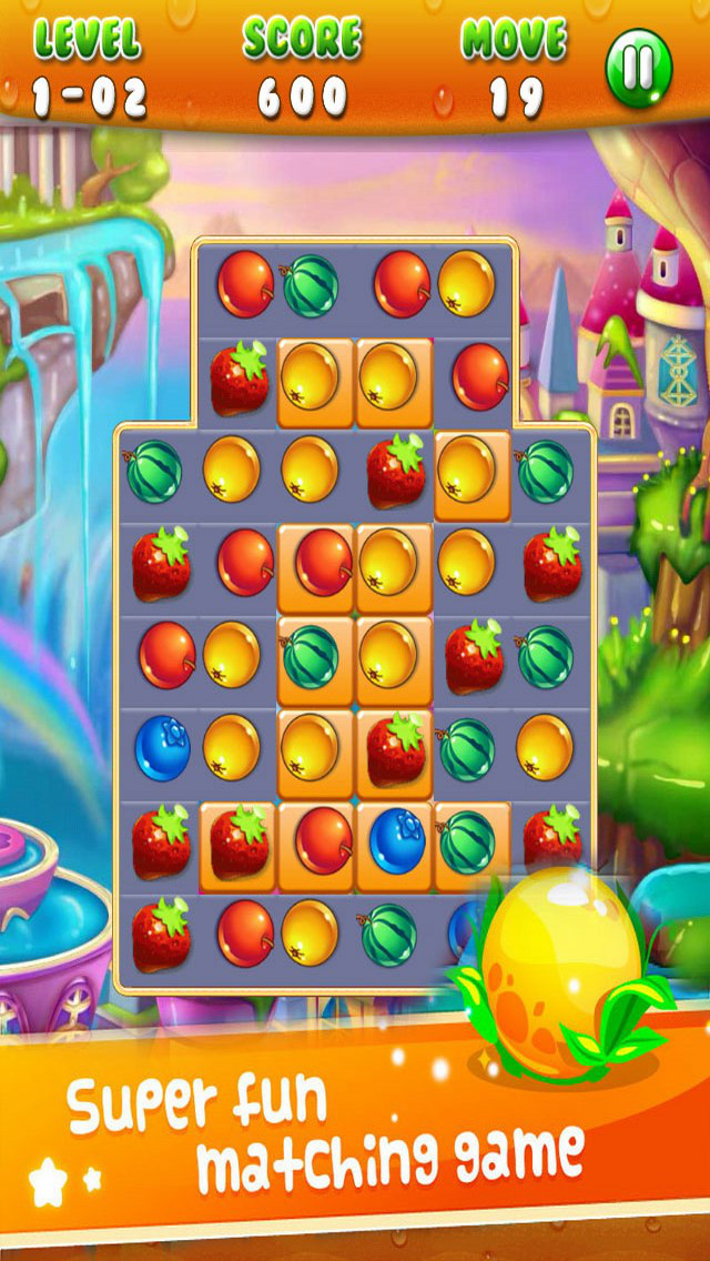 Jelly Fruit: Jam Match Link screenshot 1