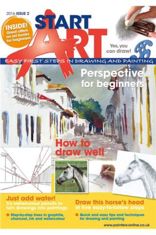 Start Art Magazine - náhled
