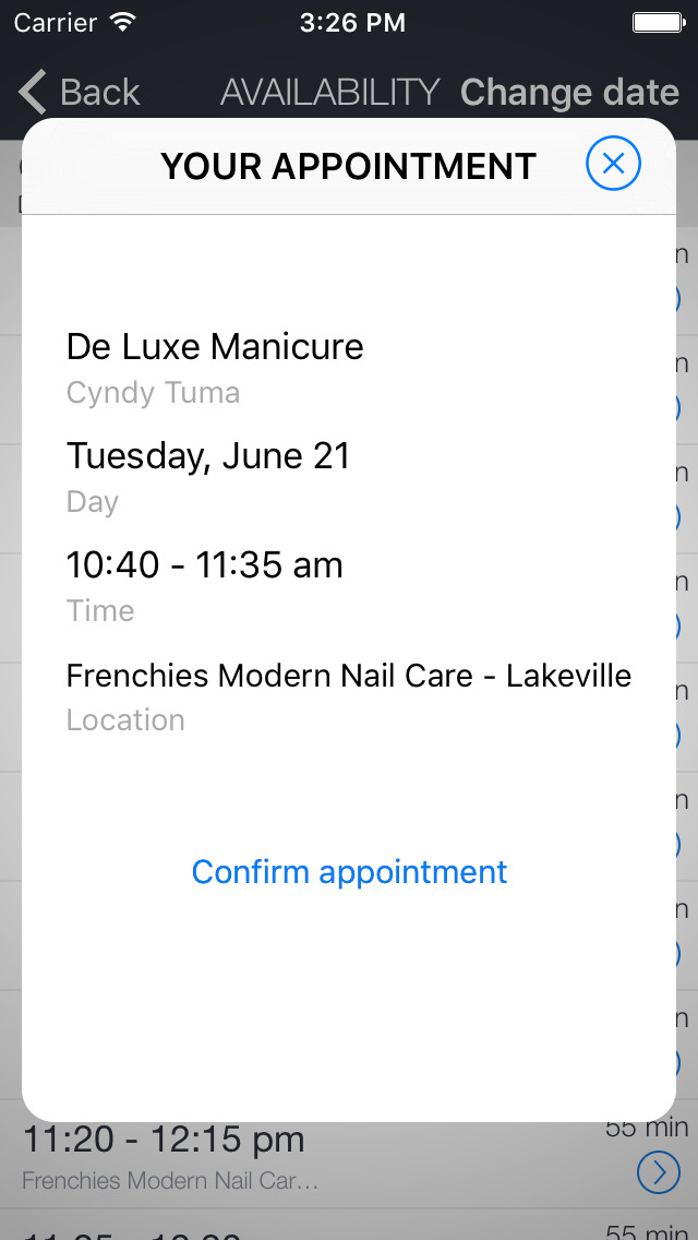 Frenchies Lakeville screenshot 2