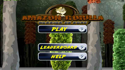 Amazon Gorilla Warrior In Rope - Amazing Jump and Fly Game screenshot 1