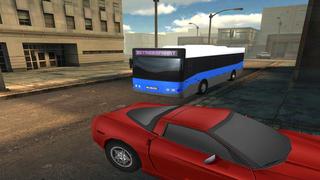 City Bus Traffic Racing -  eXtreme Realistic 3D Bus Driver Simulator Game FREE screenshot 3
