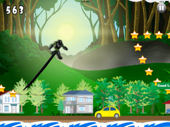 Cyber Ninja Jump Pro - Race of Mobile Androids screenshot 9