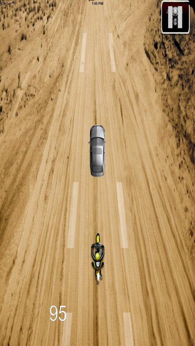 A Motocross Risk - A Crazy Motocross Game In The Desert screenshot 2