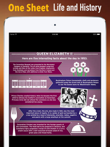 Biography and Quotes for Queen Elizabeth II: Life with Documentary and Speech Video screenshot 7