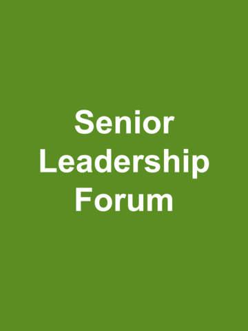 Senior Leadership Forum screenshot 4