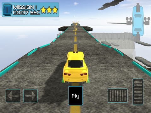 3D Flying Car Parking Simulator: eXtreme Racing, Driving and Flight Game Free screenshot 7