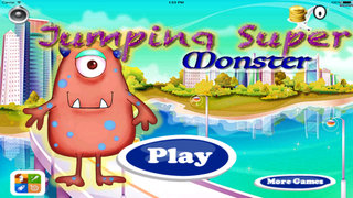 Jumping Super Monster - A Crazy Adventure Of Monsters screenshot 1