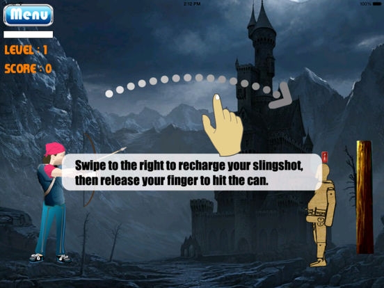 A Goalkeeper Haunted Castle - Arrow Fantastic Game screenshot 7