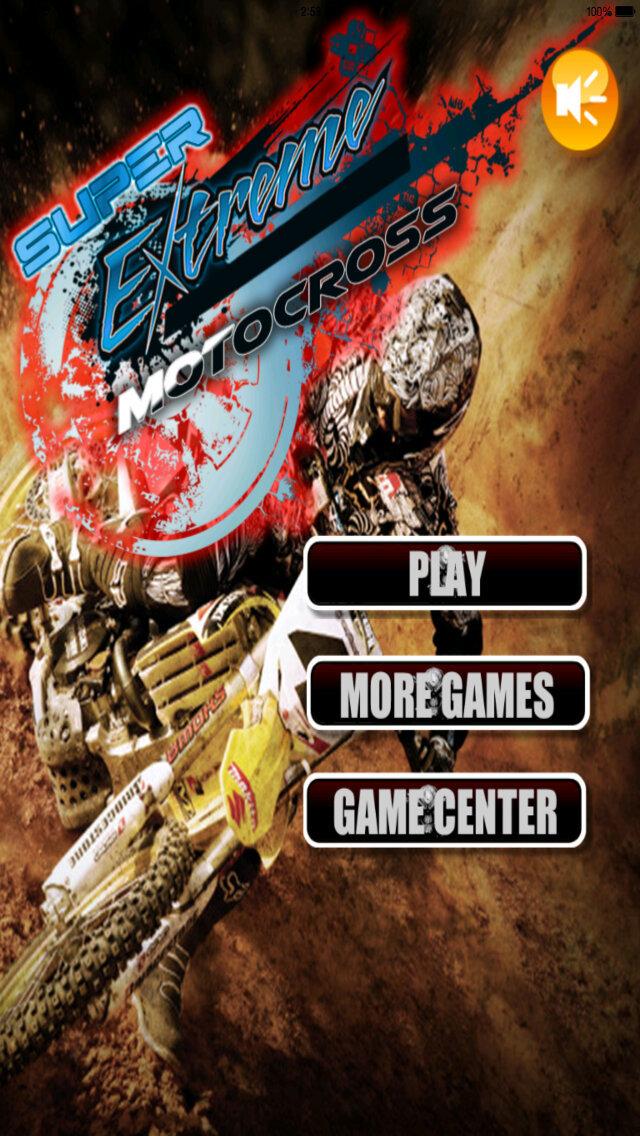 A Super Xtreme Motocross - Awesome Bike Simulator Racing Game screenshot 1