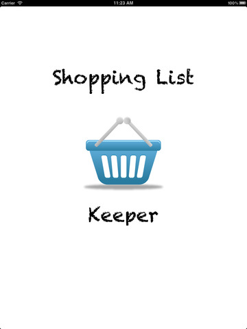Shopping List Keeper - náhled