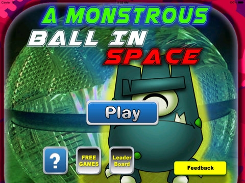 A Monstrous Ball In Space - Geometria Super Cool Game screenshot 6