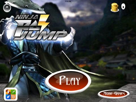 A Ninja Ray Jump HD - Jumps Of The Lords Clan Dark screenshot 6