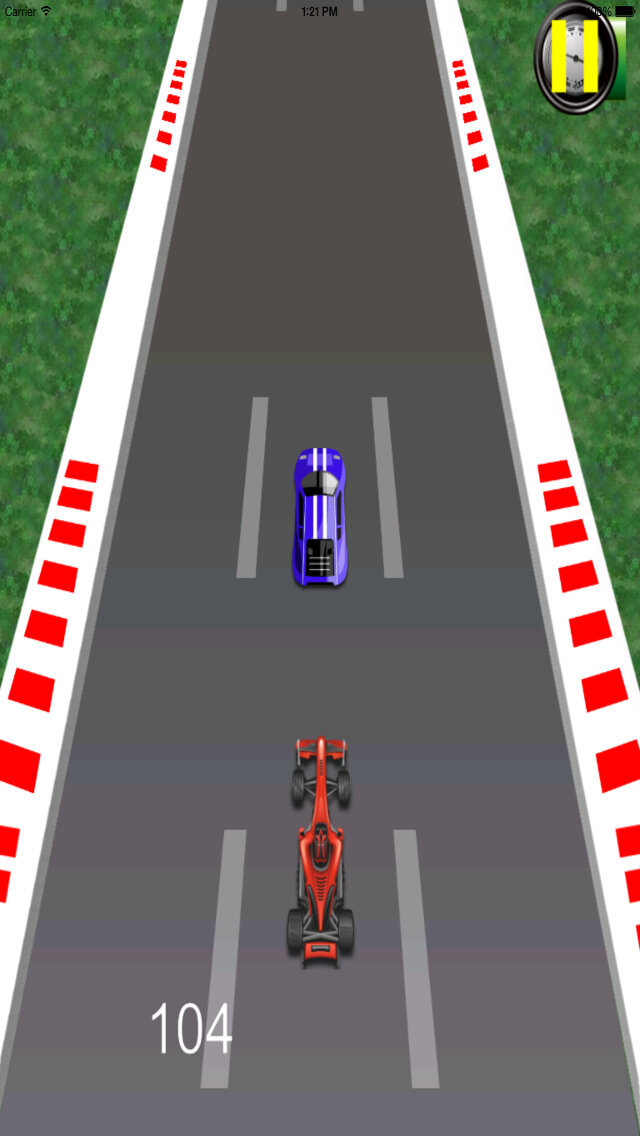 Awesome Projectile Car - Real Speed Xtreme Race screenshot 2