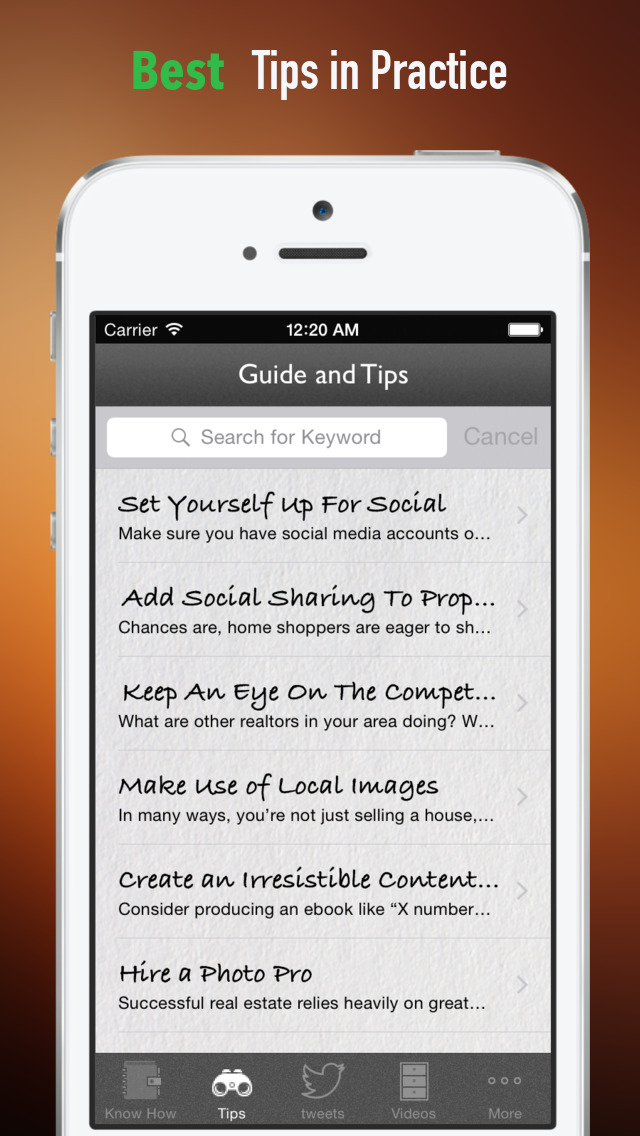 Real Estate Marketing:Realtors and Winner Tips screenshot 4